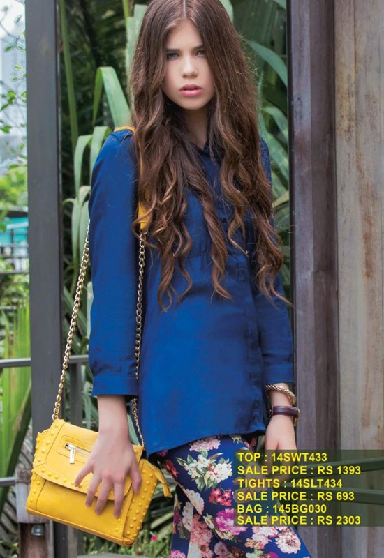 Breakout Summer Casual wear Eid ul Fitr Dresses Collection For Men & Women 2014 (2)