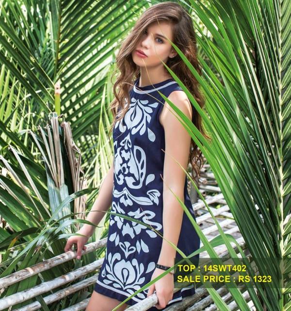 Breakout Summer Casual wear Eid ul Fitr Dresses Collection For Men & Women 2014 (20)