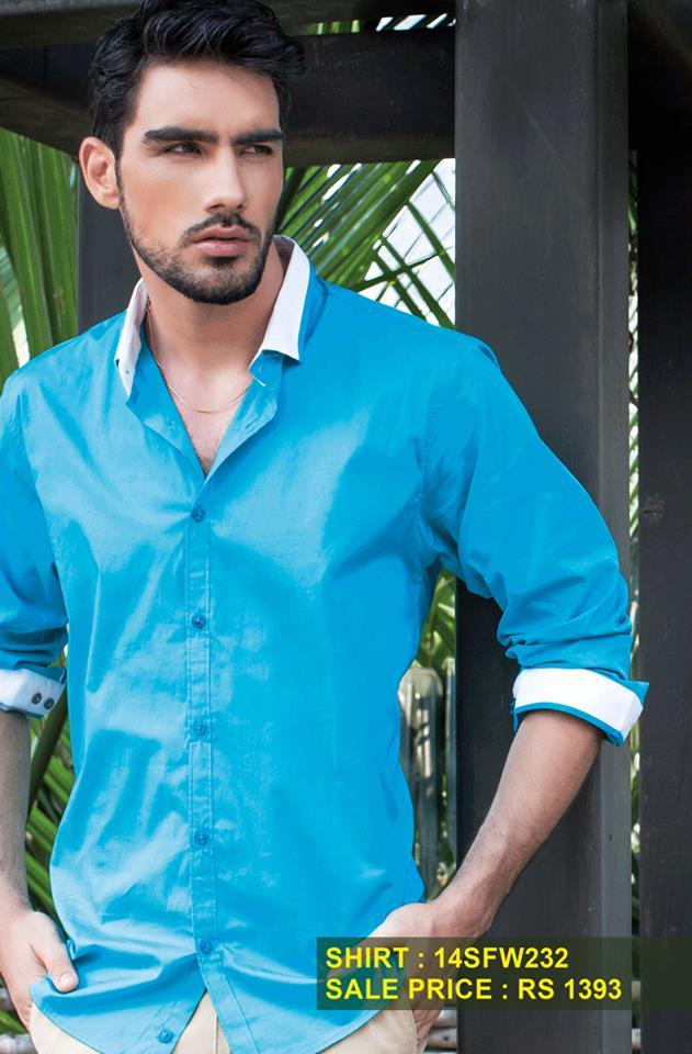Breakout Summer Casual wear Eid ul Fitr Dresses Collection For Men & Women 2014 (6)