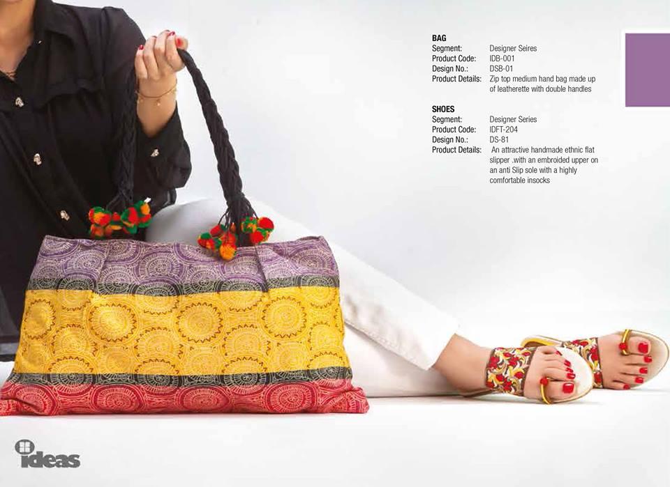 Gul Ahmed Ideas Latest Handbags & Footwear Collection for Women 2014 (11)