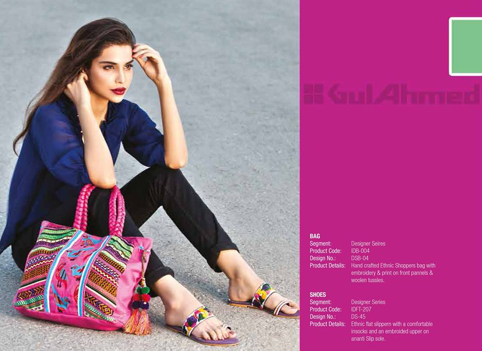 Gul Ahmed Ideas Latest Handbags & Footwear Collection for Women 2014 (12)