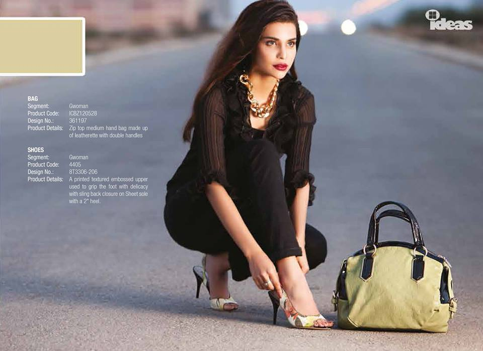Gul Ahmed Ideas Latest Handbags & Footwear Collection for Women 2014 (13)