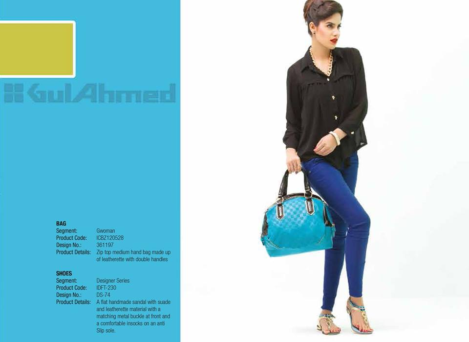 Gul Ahmed Ideas Latest Handbags & Footwear Collection for Women 2014 (14)