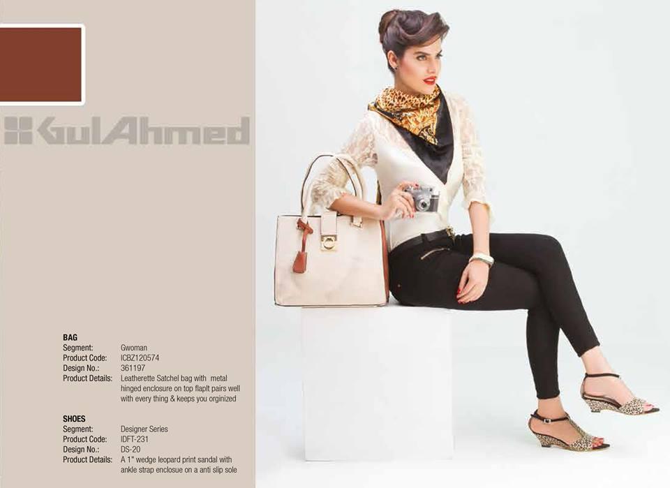 Gul Ahmed Ideas Latest Handbags & Footwear Collection for Women 2014 (16)