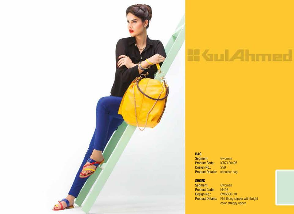Gul Ahmed Ideas Latest Handbags & Footwear Collection for Women 2014 (17)