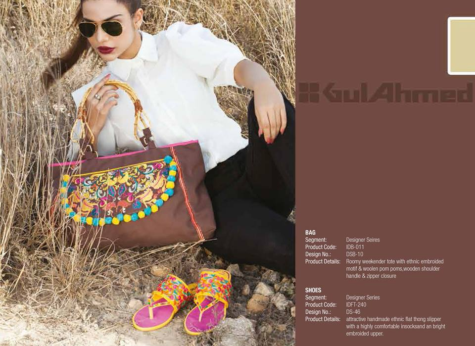 Gul Ahmed Ideas Latest Handbags & Footwear Collection for Women 2014 (19)
