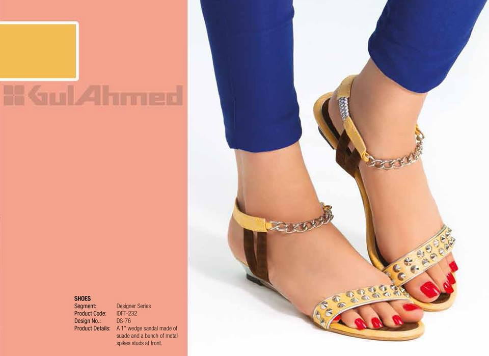 Gul Ahmed Ideas Latest Handbags & Footwear Collection for Women 2014 (2)