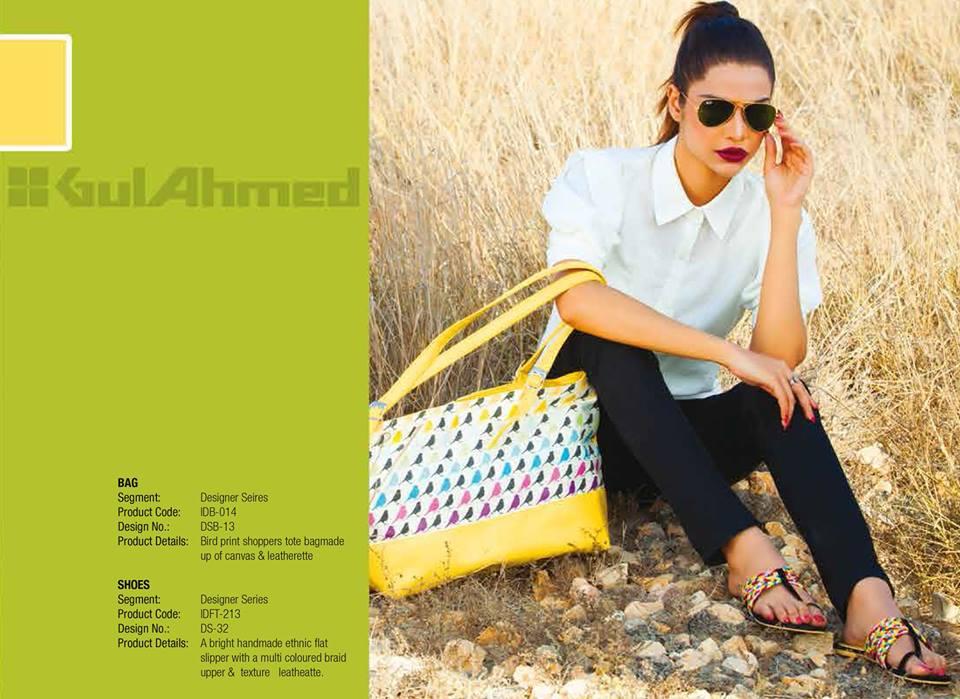Gul Ahmed Ideas Latest Handbags & Footwear Collection for Women 2014 (20)