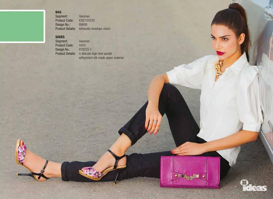 Gul Ahmed Ideas Latest Handbags & Footwear Collection for Women 2014 (21)