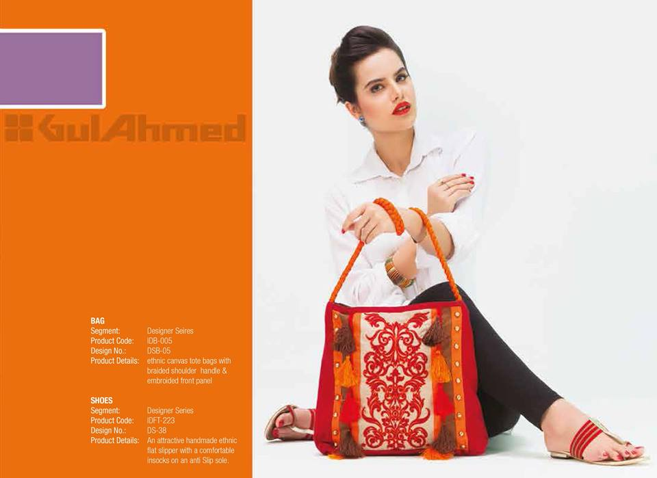 Gul Ahmed Ideas Latest Handbags & Footwear Collection for Women 2014 (3)