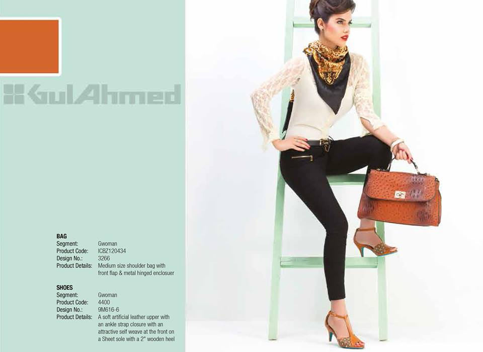 Gul Ahmed Ideas Latest Handbags & Footwear Collection for Women 2014 (4)