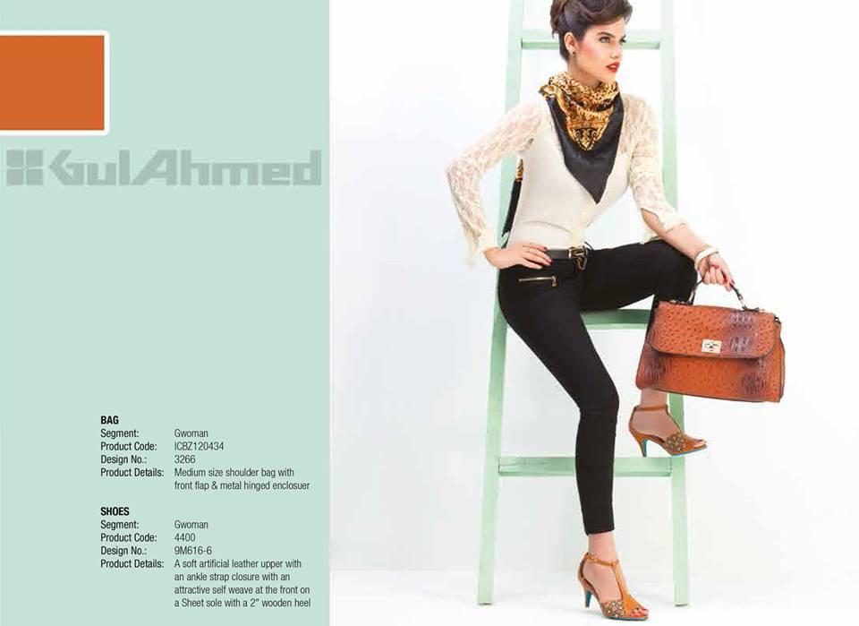 Gul Ahmed Ideas Latest Handbags & Footwear Collection for Women 2014 (4)