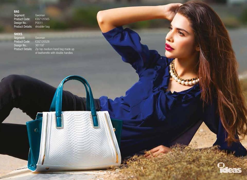 Gul Ahmed Ideas Latest Handbags & Footwear Collection for Women 2014 (7)