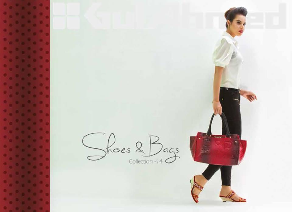 Gul Ahmed Ideas Latest Handbags & Footwear Collection for Women 2014 (8)