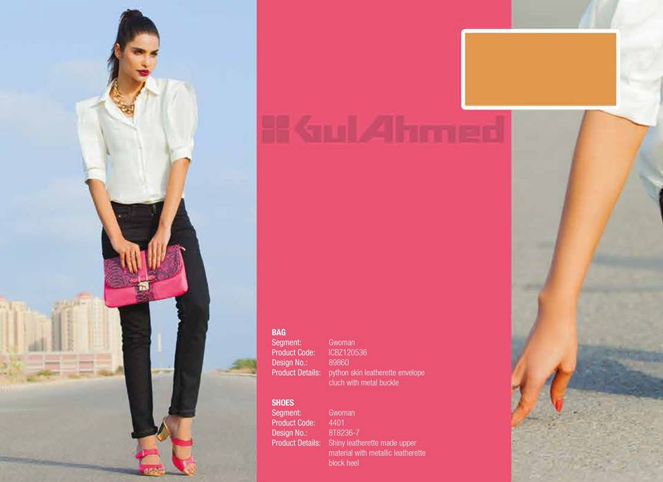 Gul Ahmed Ideas Latest Handbags & Footwear Collection for Women 2014 (9)