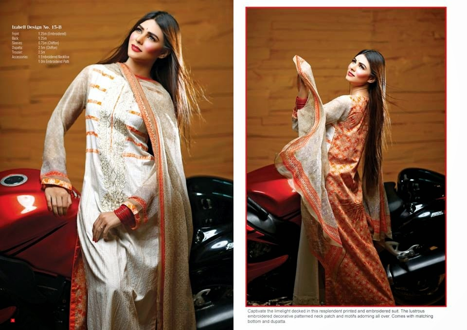 House Of Ittehad Latest Summer Eid Wear Formal Dresses Collection for Women 2014 (4)