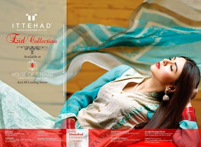 House Of Ittehad Latest Summer Eid Wear Formal Dresses Collection for Women 2014 (5)