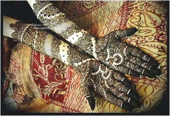 Latest Eid Mehndi Designs Collection for Girls 2014-2015 (15)