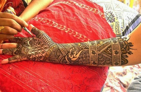 Latest Eid Mehndi Designs Collection for Girls 2014-2015 (19)