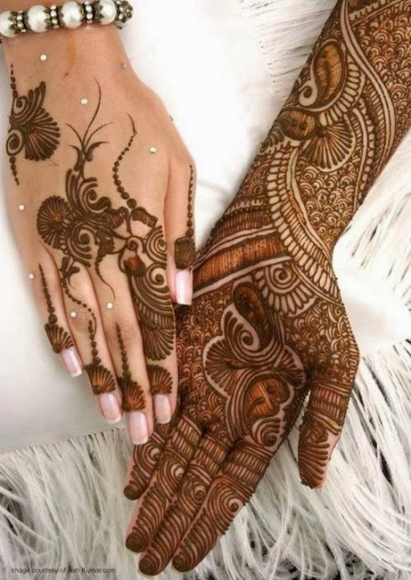 Latest Eid Mehndi Designs Collection for Girls 2014-2015 (3)