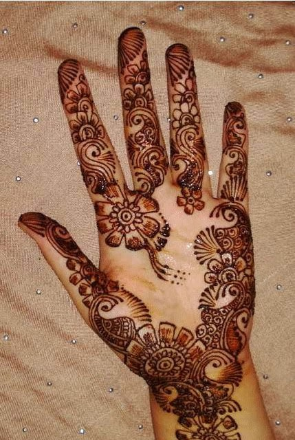 Latest Eid Mehndi Designs Collection for Girls 2014-2015 (5)