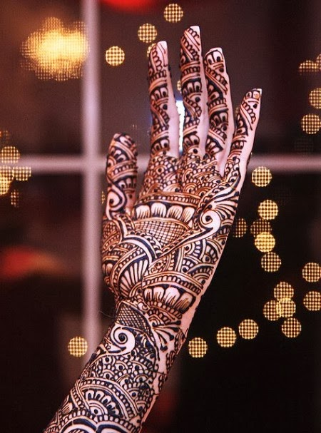 Latest Eid Mehndi Designs Collection for Girls 2014-2015 (6)