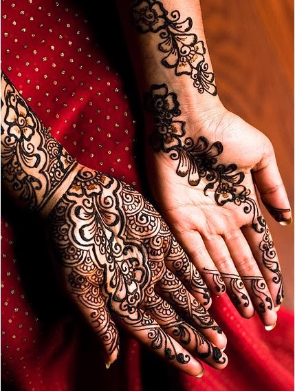 Latest Eid Mehndi Designs Collection for Girls 2014-2015 (8)