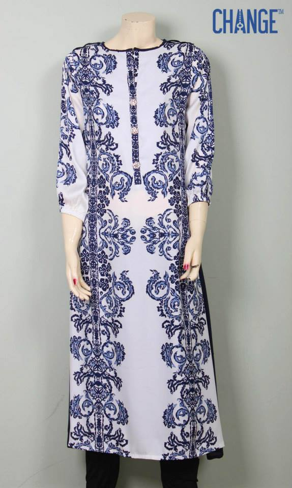Latest Eid Wear Dresses Collection for Women 2014-2015 (1)