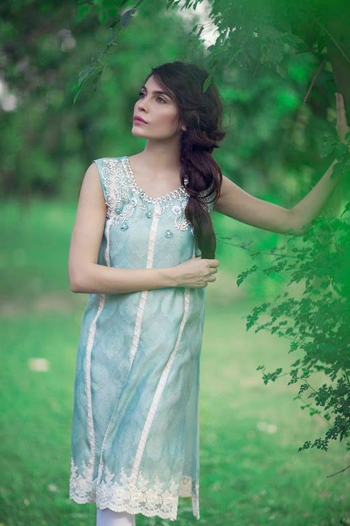 Latest Eid Wear Dresses Collection for Women 2014-2015 (5)