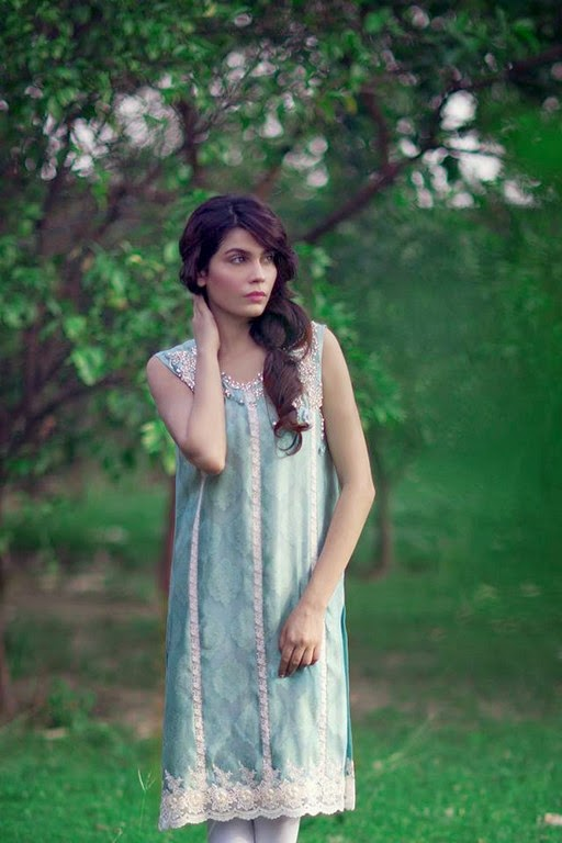 Latest Eid Wear Dresses Collection for Women 2014-2015 (6)