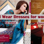 Latest Summer Eid Wear Formal Dresses Collection for Women 2014