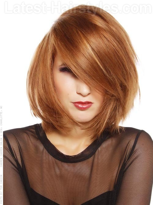 Latest Trend Short Hairstyles & Looks for Women 2014-2015 (10)