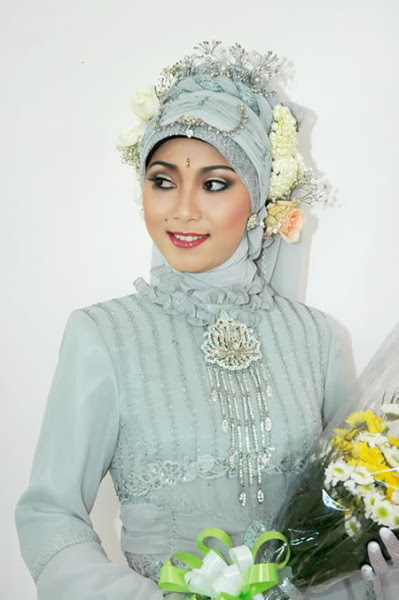 New Arabic bridal Dresses collection and hijabs for Muslim Women 2014-2015 (3)