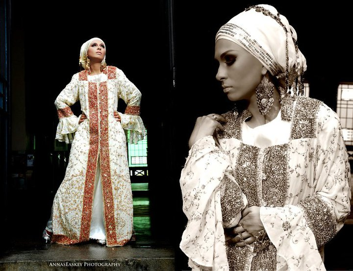 New Arabic Bridal Dresses Collection And Hijabs For Muslim