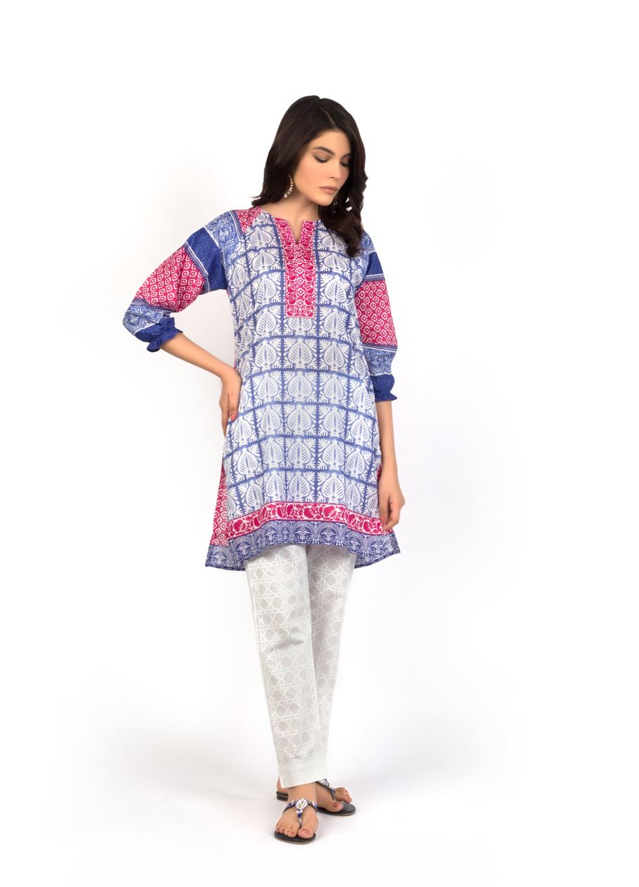 Sana Safinaz Printed & Embroidered Kurtas 2016-2017 Eid Collection (1)