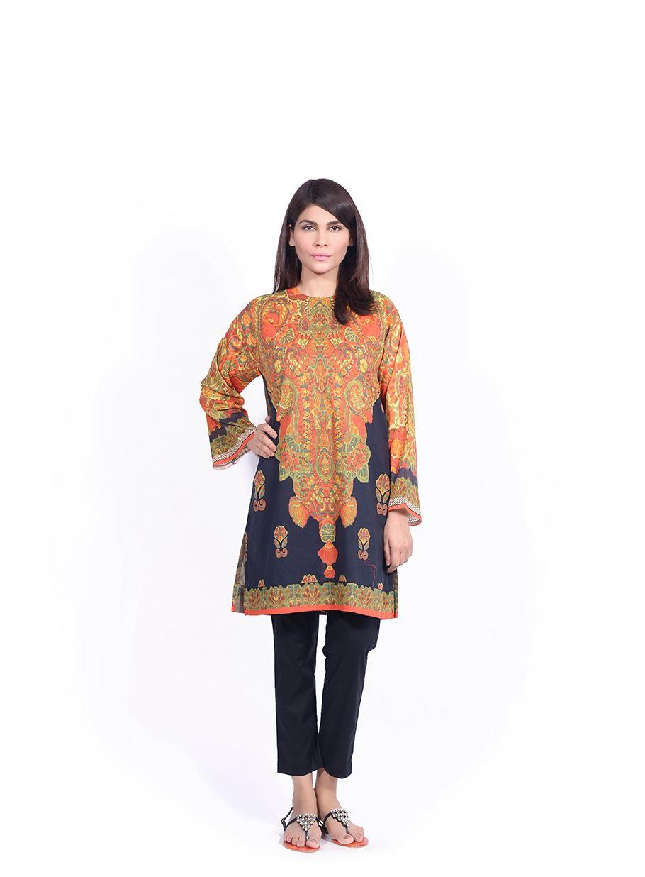 Sana Safinaz Printed & Embroidered Kurtas 2016-2017 Eid Collection (10)