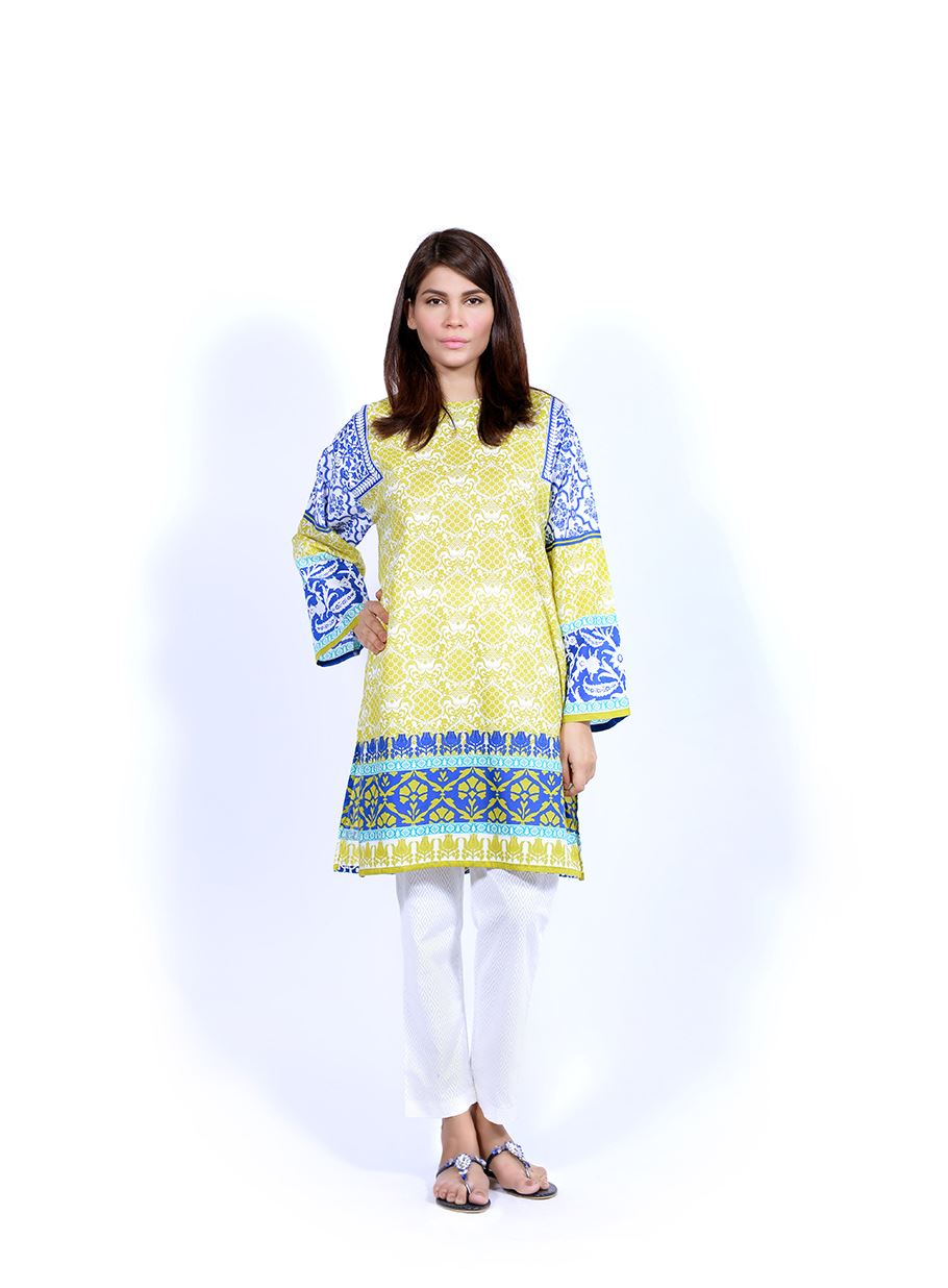 Sana Safinaz Printed & Embroidered Kurtas 2016-2017 Eid Collection (11)