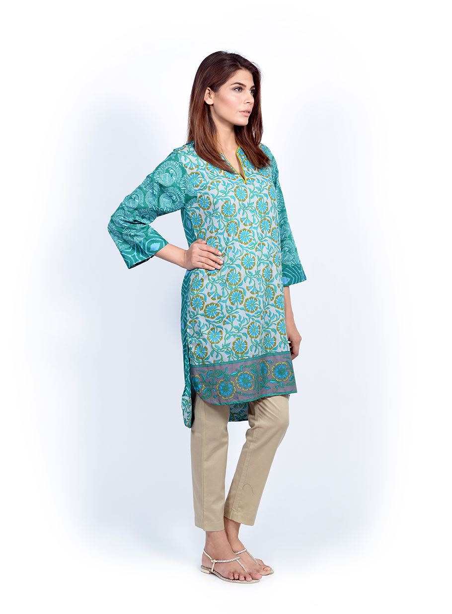 Sana Safinaz Printed & Embroidered Kurtas 2016-2017 Eid Collection (12)