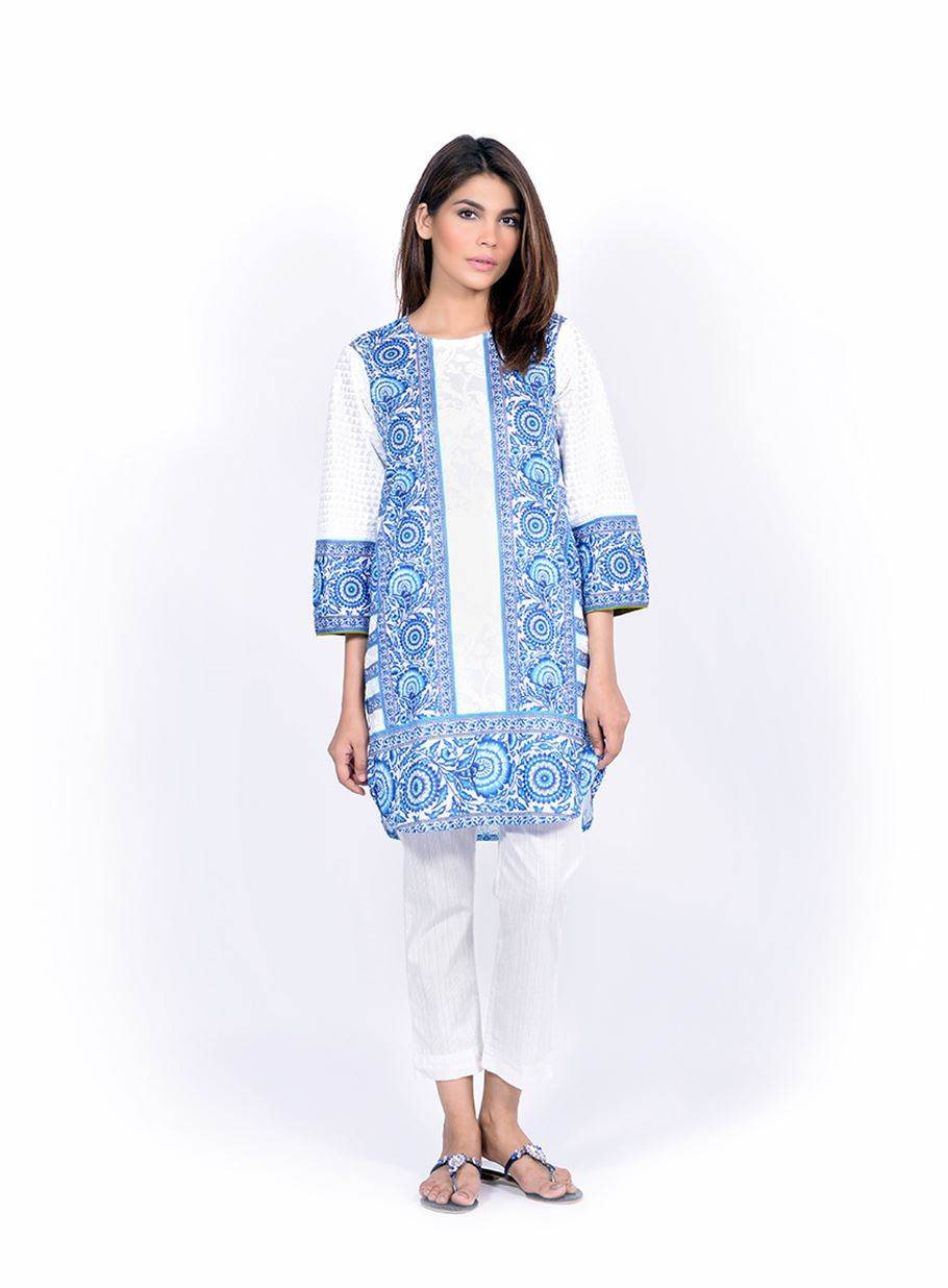 Sana Safinaz Printed & Embroidered Kurtas 2016-2017 Eid Collection (13)