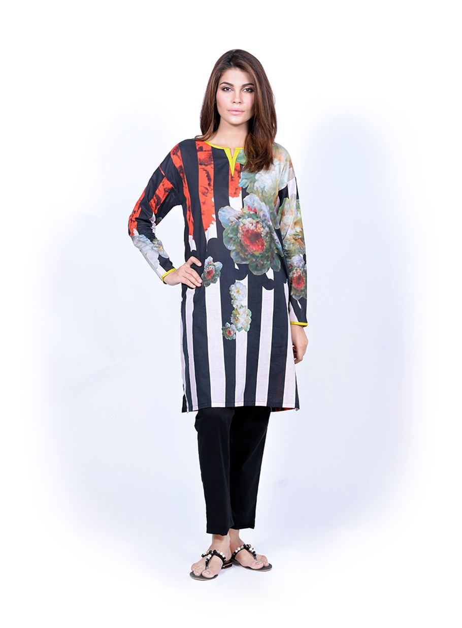Sana Safinaz Printed & Embroidered Kurtas 2016-2017 Eid Collection (24)