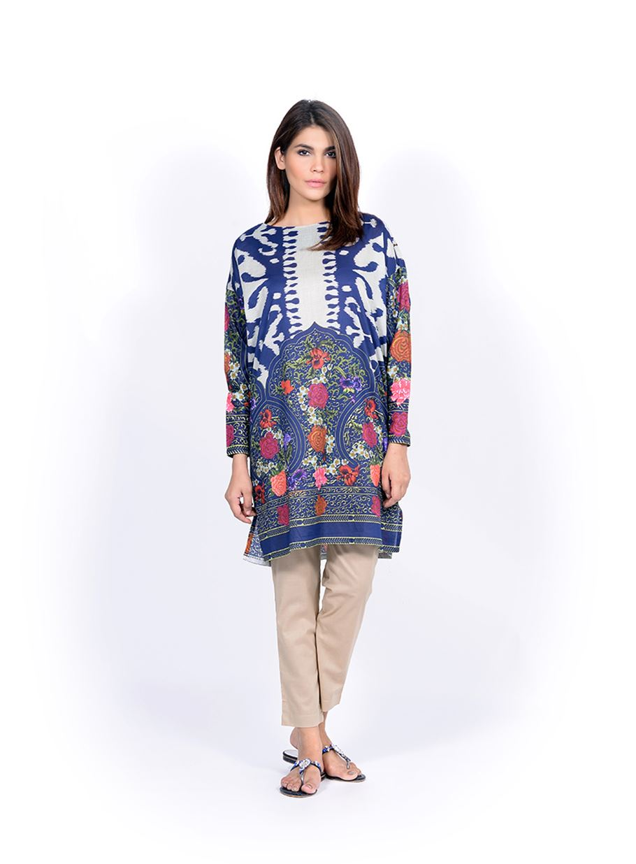 Sana Safinaz Printed & Embroidered Kurtas 2016-2017 Eid Collection (26)
