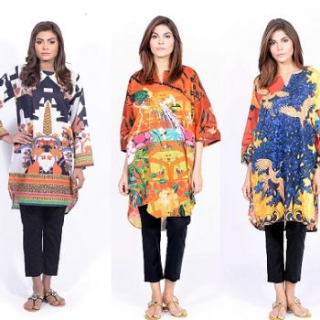 Latest Kurta Designs & Styles 2018-19 Sana Safinaz Pret Collection