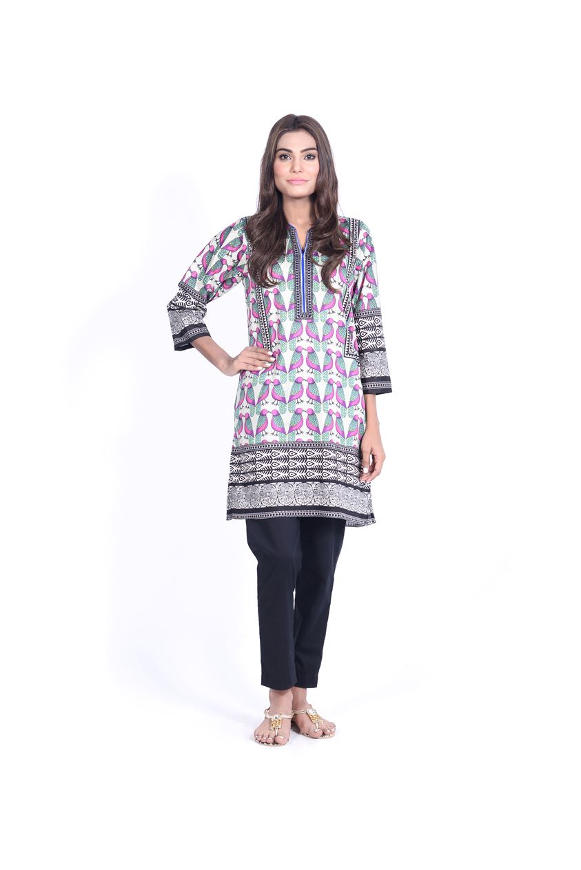 Sana Safinaz Printed & Embroidered Kurtas 2016-2017 Eid Collection (5)