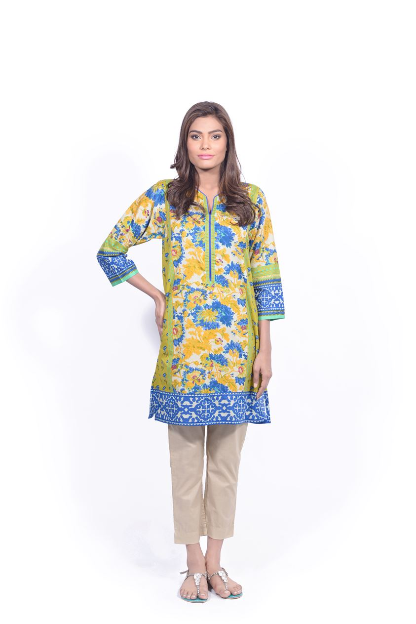 Sana Safinaz Printed & Embroidered Kurtas 2016-2017 Eid Collection (7)