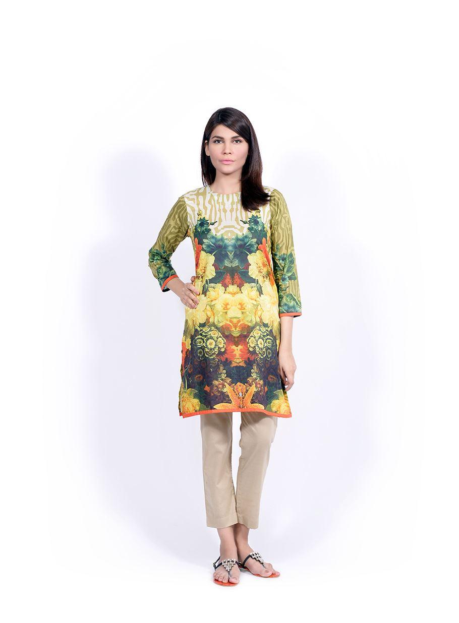 Sana Safinaz Printed & Embroidered Kurtas 2016-2017 Eid Collection (9)