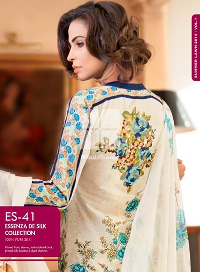 Women Latest Collection of Formal Wear Fancy * Embroidered Festive Dresses By Gul Ahmed (39)