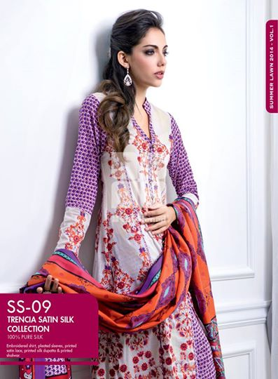 Women Latest Collection of Formal Wear Fancy * Embroidered Festive Dresses By Gul Ahmed (37)