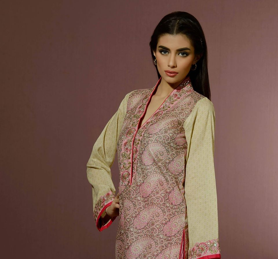 Alkaram Studio Latest Collection of Stylish and Best Eid Dresses for Women 2014-2015 (1)