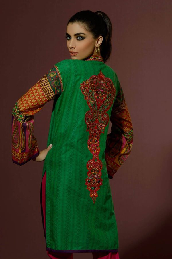 Alkaram Studio Latest Collection of Stylish and Best Eid Dresses for Women 2014-2015 (12)