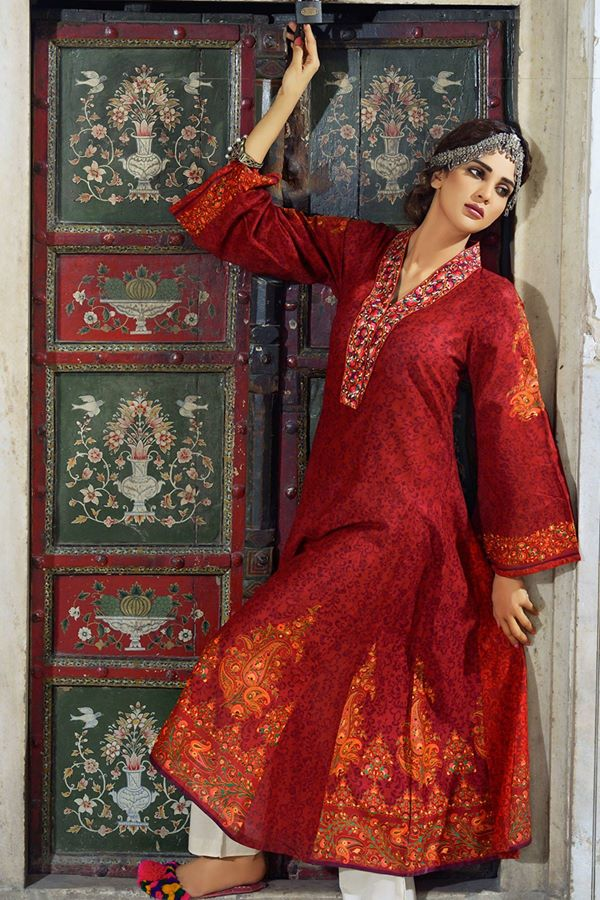Alkaram Studio Latest Collection of Stylish and Best Eid Dresses for Women 2014-2015 (15)